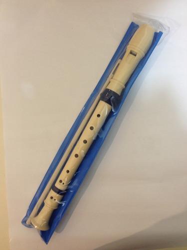 flauta doce csr sh1503 em dó germânica -kit com 120 unidades