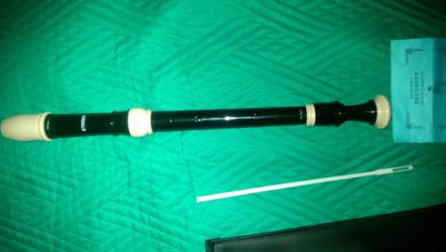 flauta dulce barroca