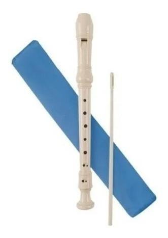 flauta dulce con estuche y palito precio x 3 unidades