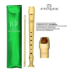Flauta Dulce Etinger Melody Flauta Escolar