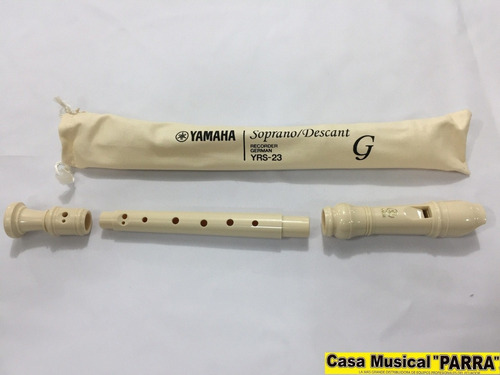 flauta dulce g yamaha recorder german yrs23
