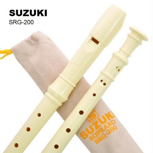 flauta dulce suzuki soprano srg-200 original ideal escuelas