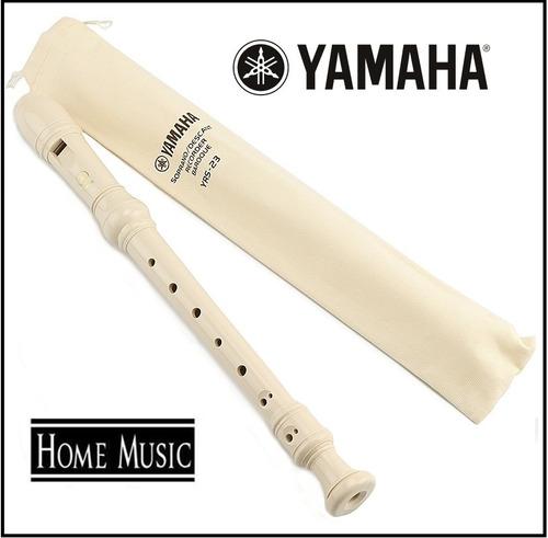 flauta dulce yamaha yrs-23 origina ideal uso escolar