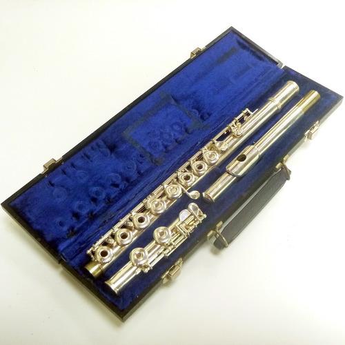 flauta gemeinhardt m3, seminova,  pronta para tocar