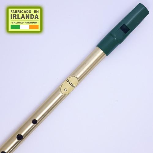 flauta irlandesa - tin whistle. d (re) brass