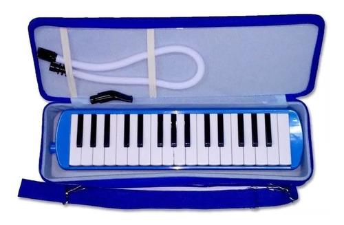 flauta melodica 37 notas knight con estuche semi rigido