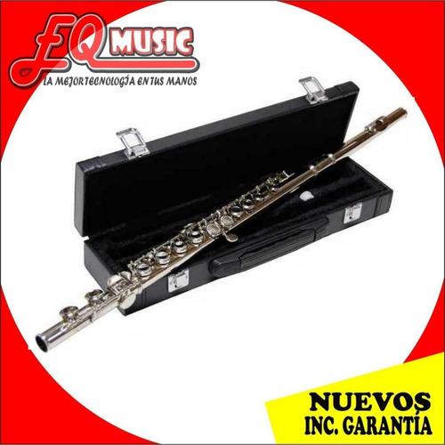flauta pearl river traversa con estuche nuevos originales