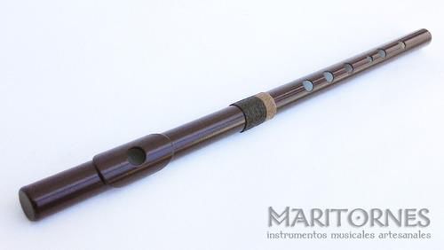 flauta traversa do mayor celta quena traversa pvc luthier