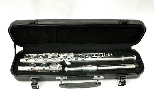 flauta traversa knight 16 llaves c silver estuc jbfl-6248s c