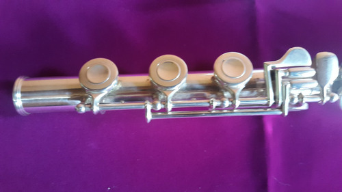 flauta traversa profesional de concierto plata pura