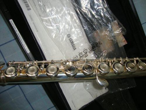 flauta traversa yamaha yfl-211 con estuche duro