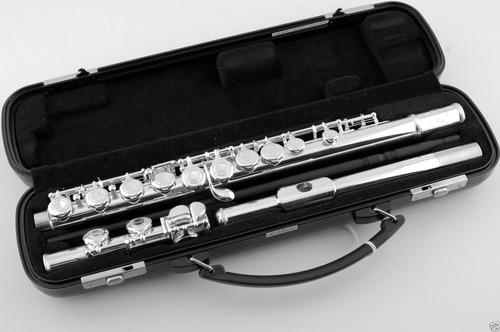 flauta yamaha 200ad nickel silver