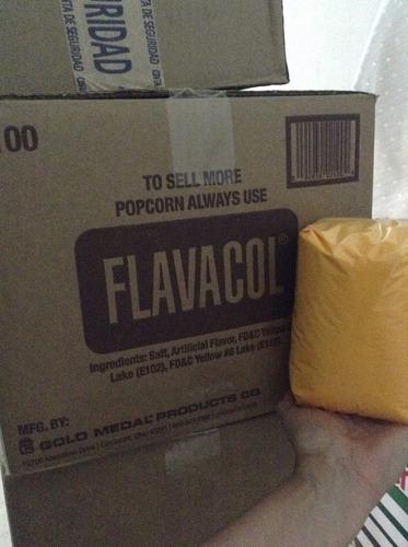 flavacol sal mantequilla para palomitas 1kg