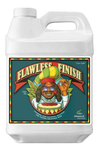 flawless finish 250 ml advanced nutrients lavar raíces flush