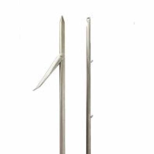 flecha arpão galvanizada 7mm c/ pino p/ arbalete acima 108cm