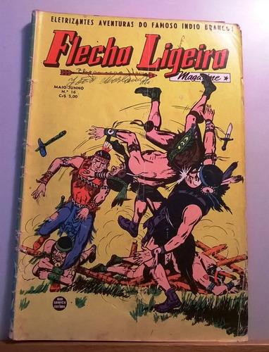 flecha ligeira no16 rge mai/jun -1956 - raro - original