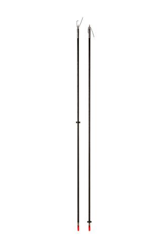 flecha pesca arco em fibra com fisga abre e fecha  e slide