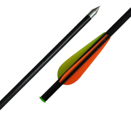 flechas 34cm pack x 5 fibra de vidrio para ballesta 34cm