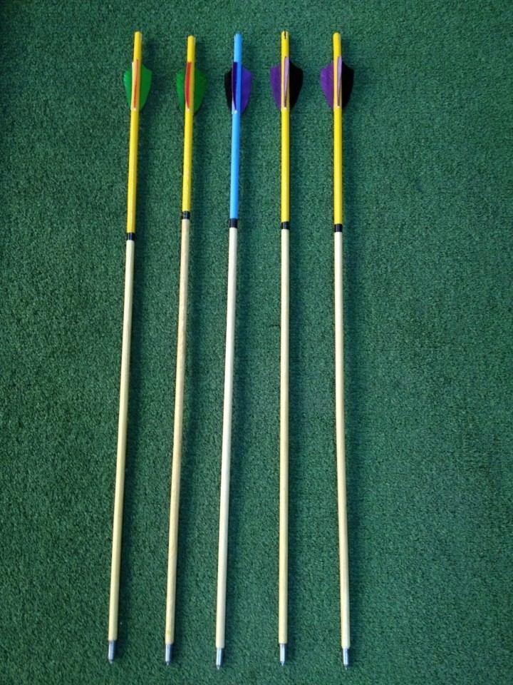 Flechas de madera para arco en mercado libre - Maderas para arcos ...