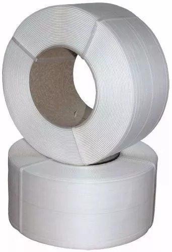 fleje plástico blanco de 1/2 x 0.80 mm (2000 mt)