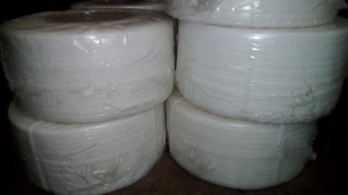 fleje plástico para embalaje 1/2 0.8 blanco