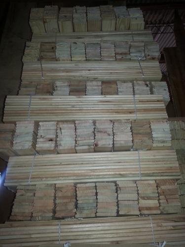flejes de pino y eucalipto - travesaños y largueros de cama