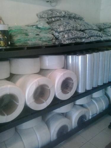 flejes de plástico de 1/2 oferta por  el día v
