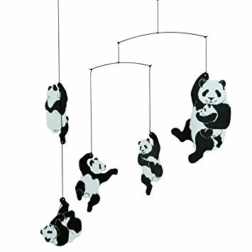 flensted móviles nursery móviles, panda mobile