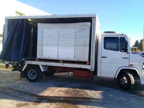 flete  ..camion con pala hidraulica mataderos lugano madero