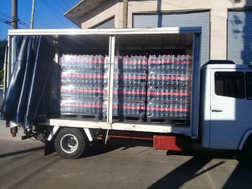 flete camion con pala hidraulica mataderos v. madero tablada