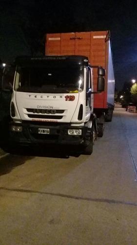 flete semi remolque sider 15.5 mts camion 30 pallets
