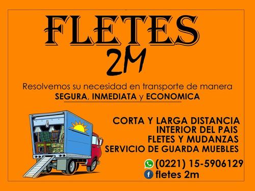 fletes 2m mudanzas , servicio de guardamuebles.