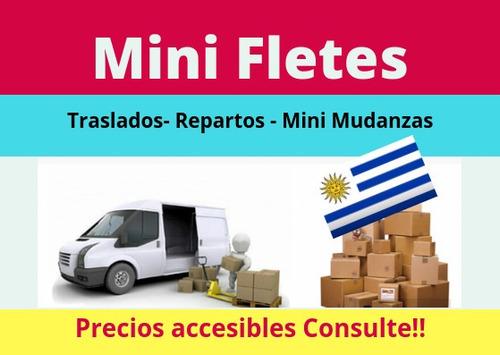 fletes baratos, económicos, envíos, traslados, 094281897