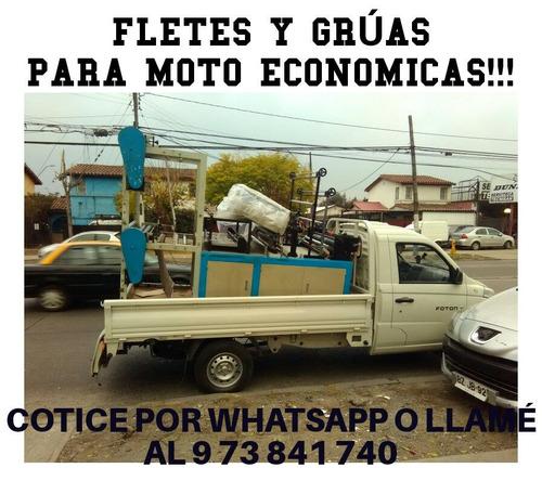 fletes baratos express mini mudanzas economicos santiago