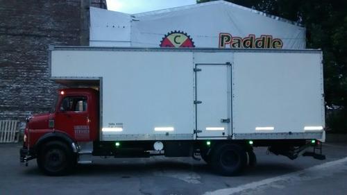 fletes, camion con pala hidraulica, grua.