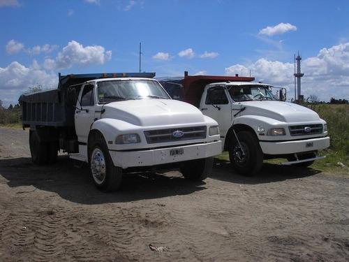fletes camion volcador , venta de tosca y tierra negra