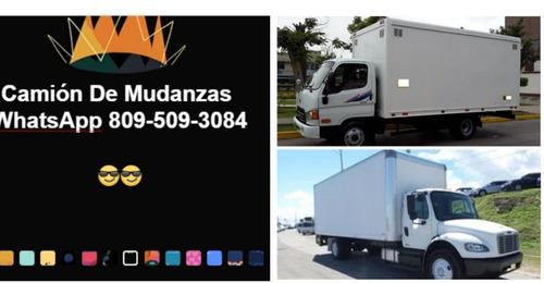 fletes camiones cerrados en santiago y todo el pais