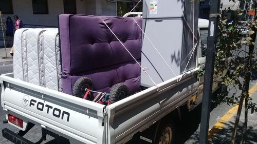 fletes económicos camioneta providencia baratos macul ñuñoa