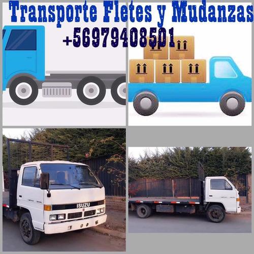 fletes económicos con camión plano 5000 kl