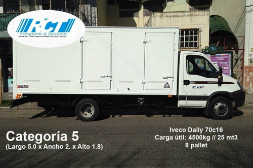 fletes - fletes - minifletes -  rct transportes y servicios