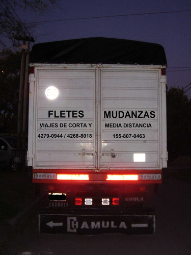 fletes mudanzas en camión  y  minifletes en utilitario
