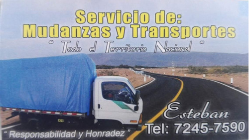 fletes mudanzas pequeñas  servicio transportes taxi carga