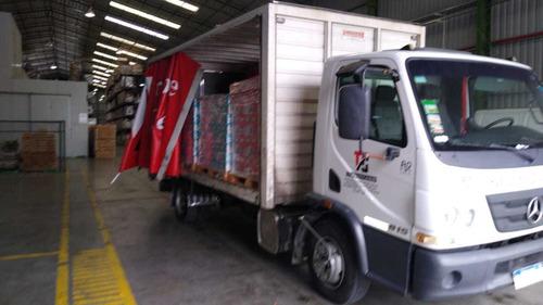 fletes mudanzas transporte camiones pala hidraulica saider