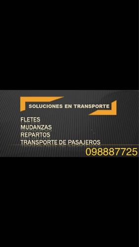 fletes mudanzas traslados auto 098887725 minifletes
