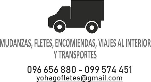 fletes, mudanzas,viajes al interior y transportes en general