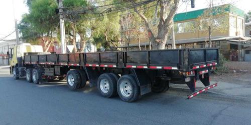 fletes rampla plana barandas camión y carro plano