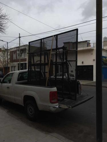 fletes transporte de vidrios y aberturas en general, vidrio