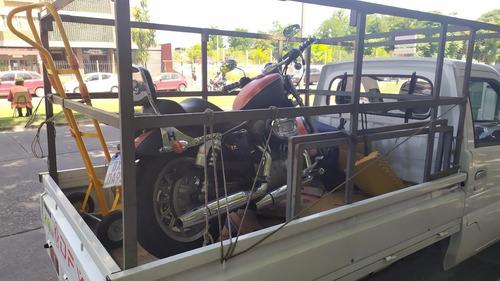 fletes, traslado de motos, encomiendas, mudanzas pequeñas