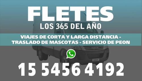 fletes  whatsapp 15-5456-4192