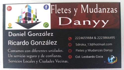 fletes y mudanzas danyy